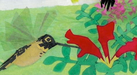 """Hummingbird"" by Carolyn Wing Greenlee"